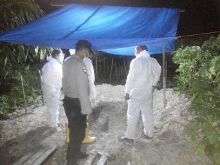 polsek kualuh hulu kawal pemakaman pasien covid19